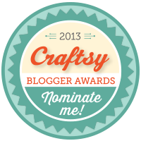 Craftsy Blogger Awards - 2013
