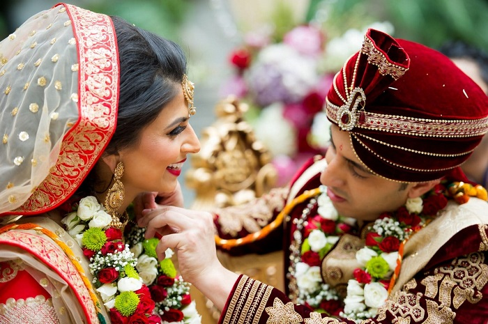 Tying the Knot Ceremony In A South Asian Wedding