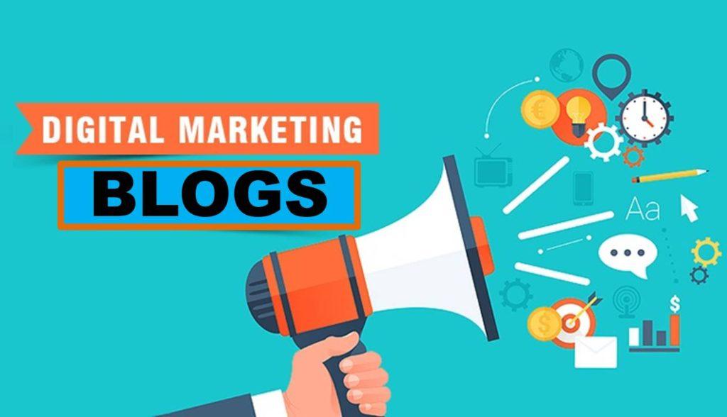 Illustrated Image of Digital Marketing Blogs