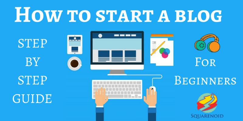 Guide To Start A Blog.