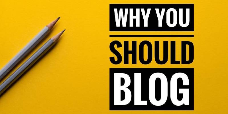Providing Reasons For Starting A Blog.