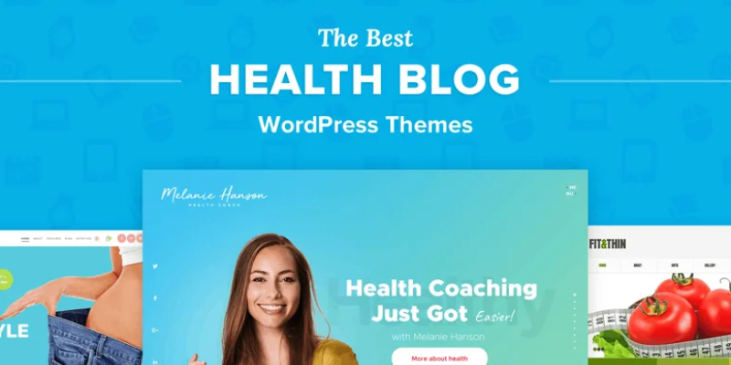 Best Wordpress Theme Template For Health Blog.