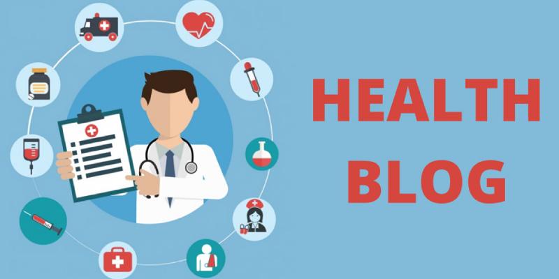A Doctor Denoting The Health Concepts - Health Blog Concept.