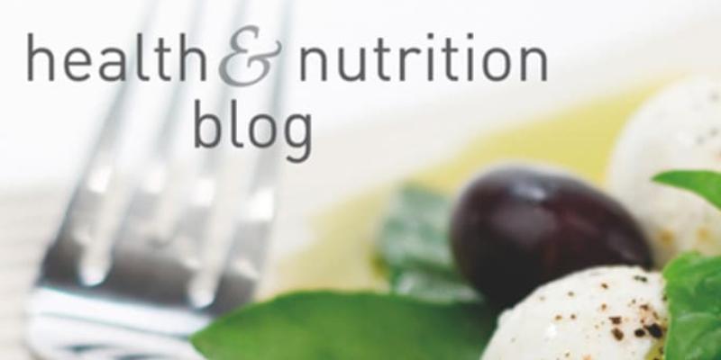 Health & Nutrition Blog Concept.