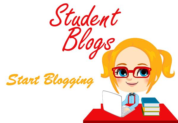 A Little Girl Start Writing Student Blog.