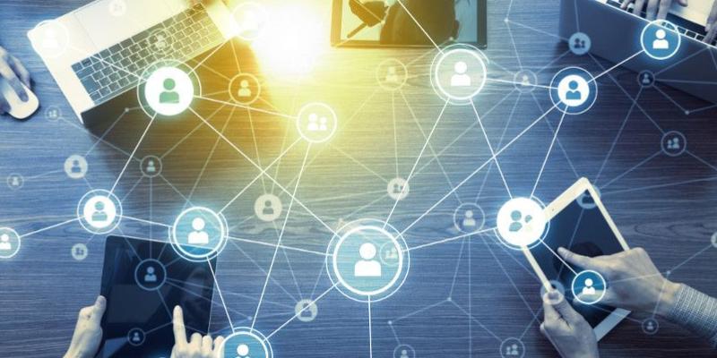 Social Media Platform For Business Marketing.